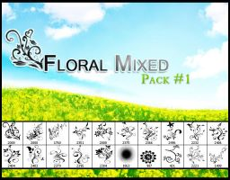 Floral_Mix_pack1 by Dsings