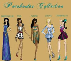 Pocahontas Collection by TheWhiteSwan