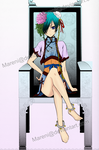 Coloring - Ciel Cutie 2 by Mareni