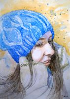 winter girl by DariaGALLERY