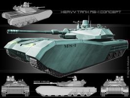 heavy tank MS-1 concept by Obey-art