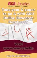 ASU Libraries Poster by R3dF0x