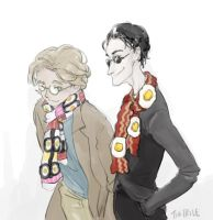 Sushi Scarfs by Tio-Trile