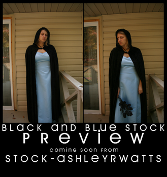 Black and Blue PREVIEW by stock-ashleyrwatts