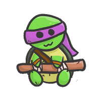 Donnie TMNT (animated) by NyxTheFlyingKatFish