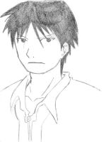 Roy Mustang Drawing by ShidoLionheart