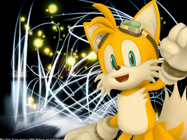 Miles Tails Prower Wallpaper 5 by CreamFireballWPS