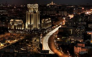 Moscow never sleeps by k5man