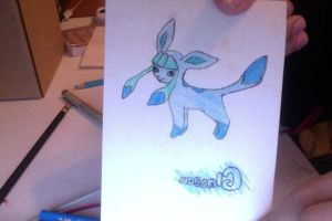 Glaceon by KickTheOlive