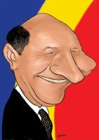 Traian Basescu by manohead