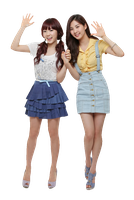 [Render] Taeyeon and Seohyun Despicable Me by HanaBell1