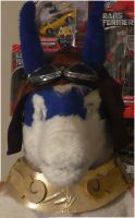 My Shiron head with goggles by benzene66