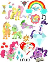 Pony Stickers by LilUFO