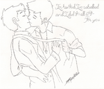 Destiel by yourroyalshortness