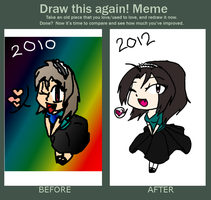 .:Draw this again Meme:. by Spooksthetic