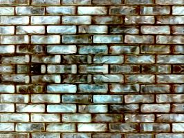 Pearlized Brick Wall Texture by DonnaMarie113
