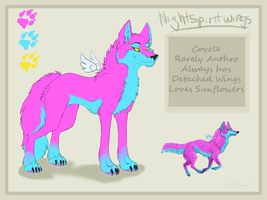 New Nightspiritwing reference by nightspiritwing