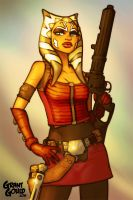 Bounty Hunter Ahsoka by grantgoboom
