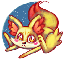 Fennekin by dragonfly272