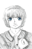 Armin Arlert by MassacredStrawberry