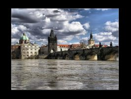 Charles bridge by Leitor