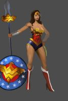 Justice League of SMITE: Athena by crellan00
