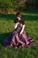 Grape Dress black Jacket 6 by Noirin-Stock