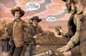 the doctor and jonah hex csbg by StevenHoward