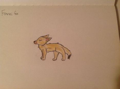 Fennec Fox DONE by AlphaAndAlphaJuice