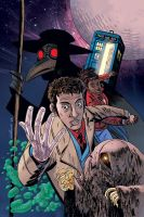 Dr Who: Black Death White Life by CharlieKirchoff