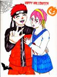 Happy HalloFlinx KF and JINX by RachelLevitte
