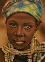 Krobo girl by Lianne-Issa