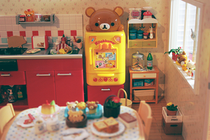 Rilakkuma Kitchen by cyristine