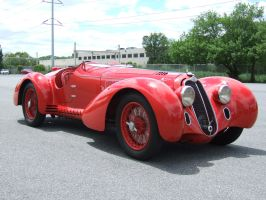1938 Alfa-Romeo 8C2900MM by Aya-Wavedancer