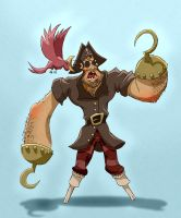 Ari The Handicapped Pirate by Sodano