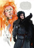 You know nothing, Jon Snow by EmegE