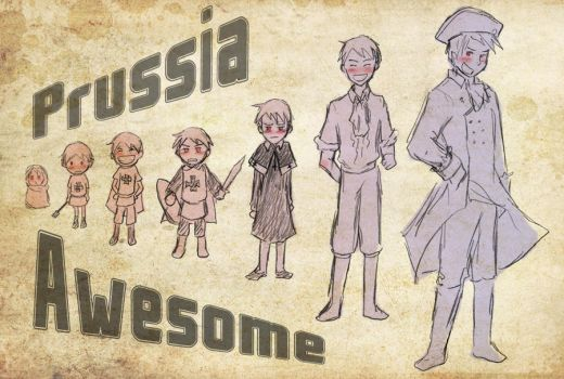 Chibi Prussia and Beyond by Arkham-Insanity