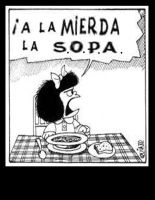 NO QUEREMOS  SOPA by rend-sukioka