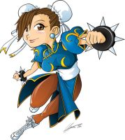 Chun-Li Kid by Witchking00