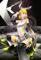 kagamine rin APPEND by shura117