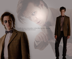 The Eleventh Doctor Matt Smith by Vanessa28