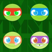 TMNT wallpaper 2 by ActionKiddy