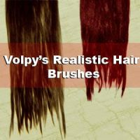 Realist Hair Brushes - Set 01 by volpy
