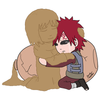 I Love You, Gaara by Sandy--Apples