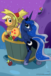 Bobbing for Apple...jack? by LoopEnd