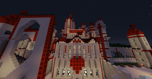 Minecraft: My Castle of Hearts by iFateTravisCooper