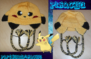 Pikachu Hat by PartyhatPikachu