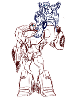 .:Ironhide and Chormia:. by JACKSPICERCHASE