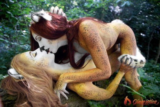 Gingerotica - Frisky Kitties 05 by Gingersnap-Pixie