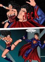 JUSTICE LEAGUE: battle of the watchtower page 2 by ArtbyMiel